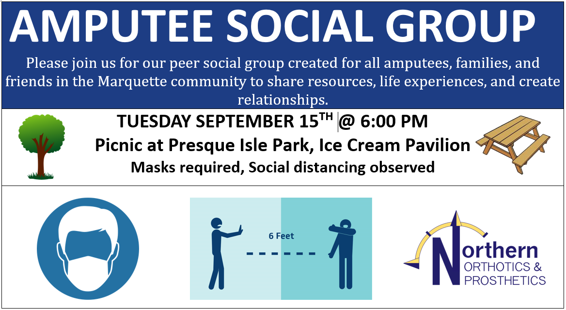September 2020 Amputee Social Group